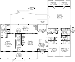 Country Floor Plan S Bedroom Bath Suitable For Narrow Home Design Country Floor Plans
