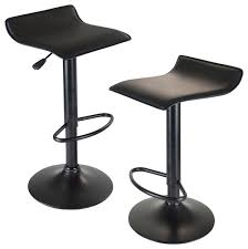backless swivel bar stools. Innovative Backless Swivel Bar Stool With Winsome Wood 20239 Obsidian Airlift Black Stools S