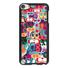 Coach Fashion Monogram Multicolor iPod Touch 5TH CAH