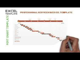 Pert Chart Generator Excel How To Create Pert Chart Template In Excel Youtube