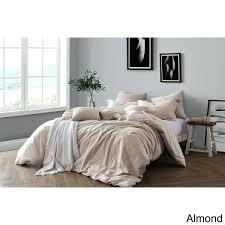 king duvet comforters all natural yarn dye cotton premium wrinkled look chambray duvet cover set king king duvet
