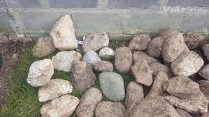 large beach rocks for garden for