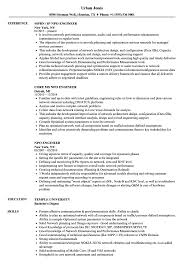 Npo Engineer Resume Samples Velvet Jobs