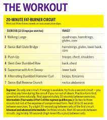 oxygen s 20 minute fat burning workout
