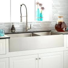 33 stainless steel farmhouse sink optimum offset double bowl stainless steel farmhouse sink kraus 33 inch