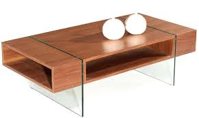 stilt modern coffee table glass base contemporary wood furniture tables