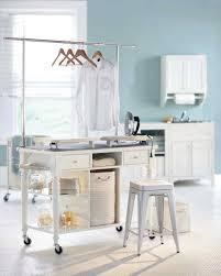 Laundry Hanging Bar 12 Essential Laundry Room Organizing Ideas Martha Stewart
