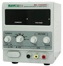Baku <b>Bk 1502Dd</b> Sophisticated Regulated <b>Dc Power Supply</b> Power ...