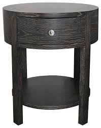 stunning white lacquer nightstand furniture. Stunning Round Wood Night Stand Top Single Drawer White Within For Stands Plan 6 Lacquer Nightstand Furniture I