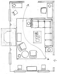 living room floor plans with sectional