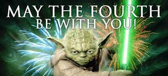 Happy Star Wars Day (AKA National Geek Day)
