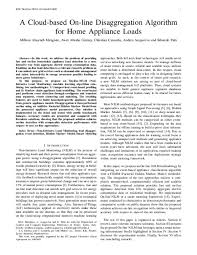 Home Appliance Amp Reference Chart Pdf A Cloud Based On Line Disaggregation Algorithm For Home