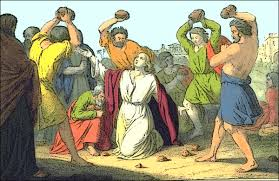 Image result for stoning of stephen activity