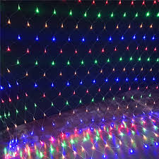 Led Net Lights 3m X 2m Led Net Mesh String Light 1 5m X 1 5m 96leds 3m X 2m 200leds