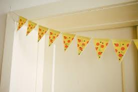 office summer party ideas. pizza garland via shelterness office summer party ideas