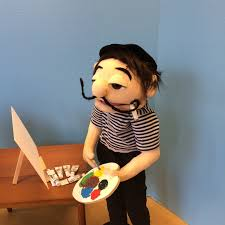 goodman sml puppet. french painter also known as jeffy\u0027s dad from supermarologan youtube sml movie. goodman puppet