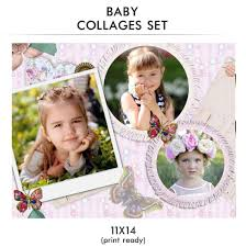 baby collage frame baby collage set baby love