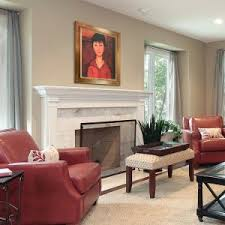 Awesome Red Accent Chair Living Room For Interior Designing House