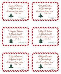 Holiday Address Label Templates Seuss Handmade Gift Christmas Label Design Label Templates