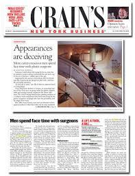 magazines articles appearances are deceiving more career conscious men spend face time plastic surgeons