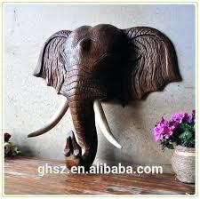 gold elephant wall decor elephant head wall mount style wall decor resin wall mounted elephant head