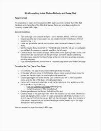 17 Mla Format Template Google Docs Sopexample