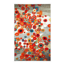 Impressive Colorful Rugs Home Tossed Floral Multi Rug Houzz To Inspiration
