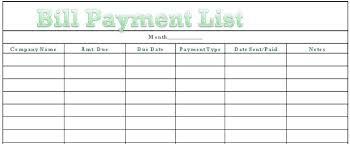Bill Organizer Simple Bill Calendar Template Pay Excel Payment Famous And Organizer