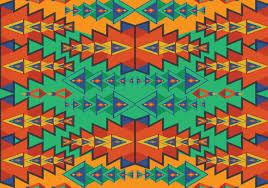 Aztec Patterns Custom Inspiration Design