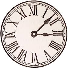 Antique Clock Face Graphics From School Book Knickoftime Free
