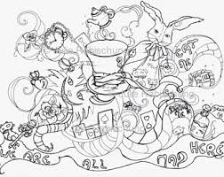 Small Picture Alice coloring pages Etsy