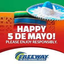 cinco de mayo freeway insurance