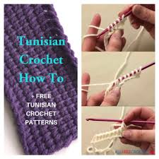 Tunisian Crochet How To 40 Tunisian Crochet Patterns Adorable Crochet Patterns