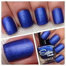 Лак Satin Touch глубоко синего оттенка с сатиновым блеском ...