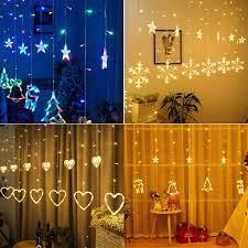 Dây Đèn LED Rèm Trang Trí Giáng Sinh, Valentine Dài 2m5 giảm tiếp 215,000đ