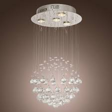 kjlars chandelier luxury modern crystal 4 lights
