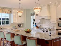 kitchen with spacious island