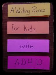 post its to paper teaching the writing process to kids adhd  writingprocesspostits