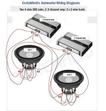 amps subs wiring diagram subwoofers car audio video hd 2 amps 2 subs wiring diagram subwoofers car audio video