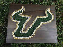 made to order usf university of south florida string art by  made to order usf university of south florida string art by stringsimply on