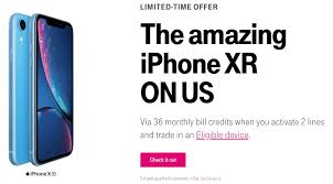 t mobile kicked off a new promotion today that lets new and existing customers get the 64gb iphone xr at no extra cost when they add new voice lines and