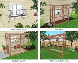 outdoor cat enclosure kits uk all about enclosures spaces plans spacescom