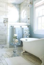 claw foot bathtub shower marble shower baby blue walls and a tub pro construction group clawfoot claw foot bathtub shower