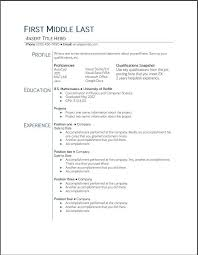 Resume Template Google Docs Magnificent Resume Templates Google Docs Hyperrevcipo