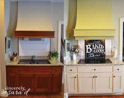 chalk paint kitchen cabinets before and after homey idea hickory wood harvest gold windham