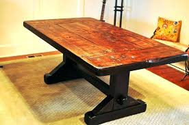 Rustic furniture adelaide Oak Cabinet Rustic Beehiveschoolcom Rustic Trestle Table Furniture Attic Counter Height With Leaves