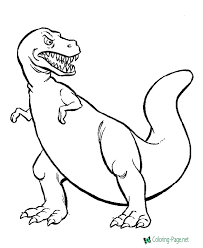 Dinosaur coloring pages for kids: Dinosaurs Coloring Pages