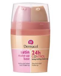 dermacol 24h control make up 15 ml satin make up base 15 ml baza pod podkład odcień 02