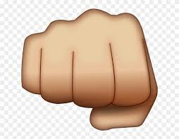 Fist Transparent Background Pictures Of Fist Fist Emoji Free Transparent Png Clipart