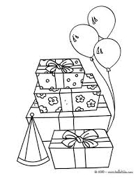 Small Picture Birthday gifts coloring pages Hellokidscom